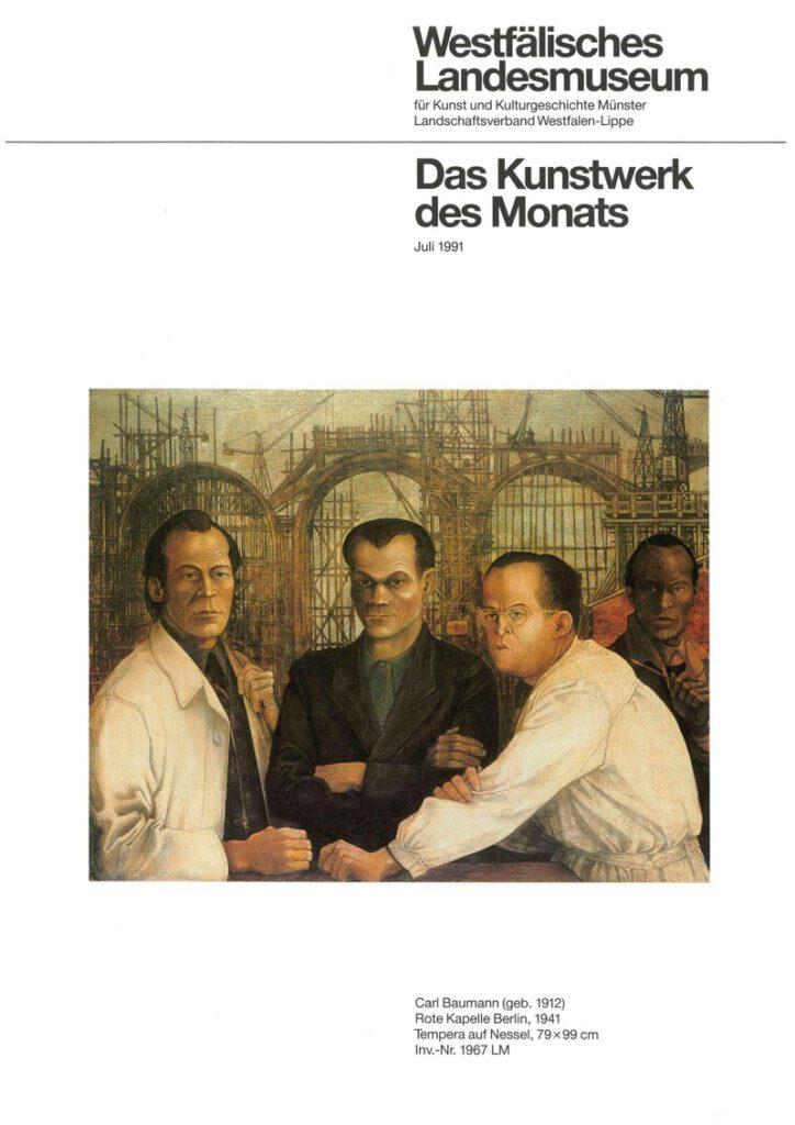 Rote Kapelle - Kunstwerk des Monats im Juli 1991